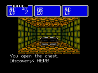 Shining In The Darkness Megadrive 20