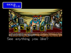 Shining In The Darkness Megadrive 33