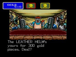 Shining In The Darkness Megadrive 34