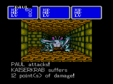 Shining In The Darkness Megadrive 43
