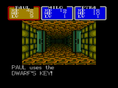 Shining In The Darkness Megadrive 54