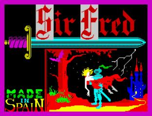 Sir Fred ZX Spectrum 01
