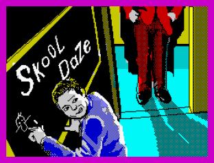 Skool Daze ZX Spectrum 01