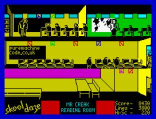 Skool Daze ZX Spectrum 20