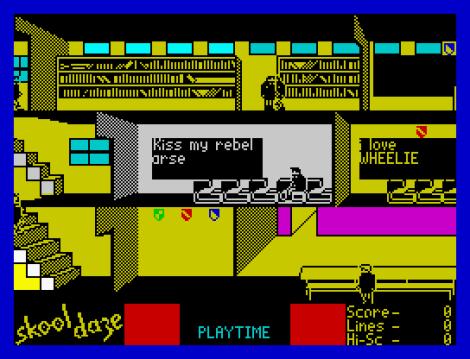 Skool Daze ZX Spectrum 26