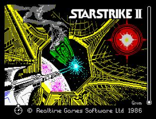 Starstrike 2 ZX Spectrum 01