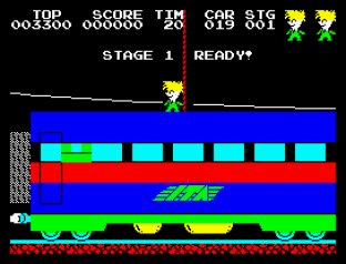 Stop The Express ZX Spectrum 01