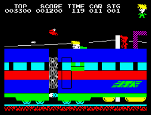 Stop The Express ZX Spectrum 09