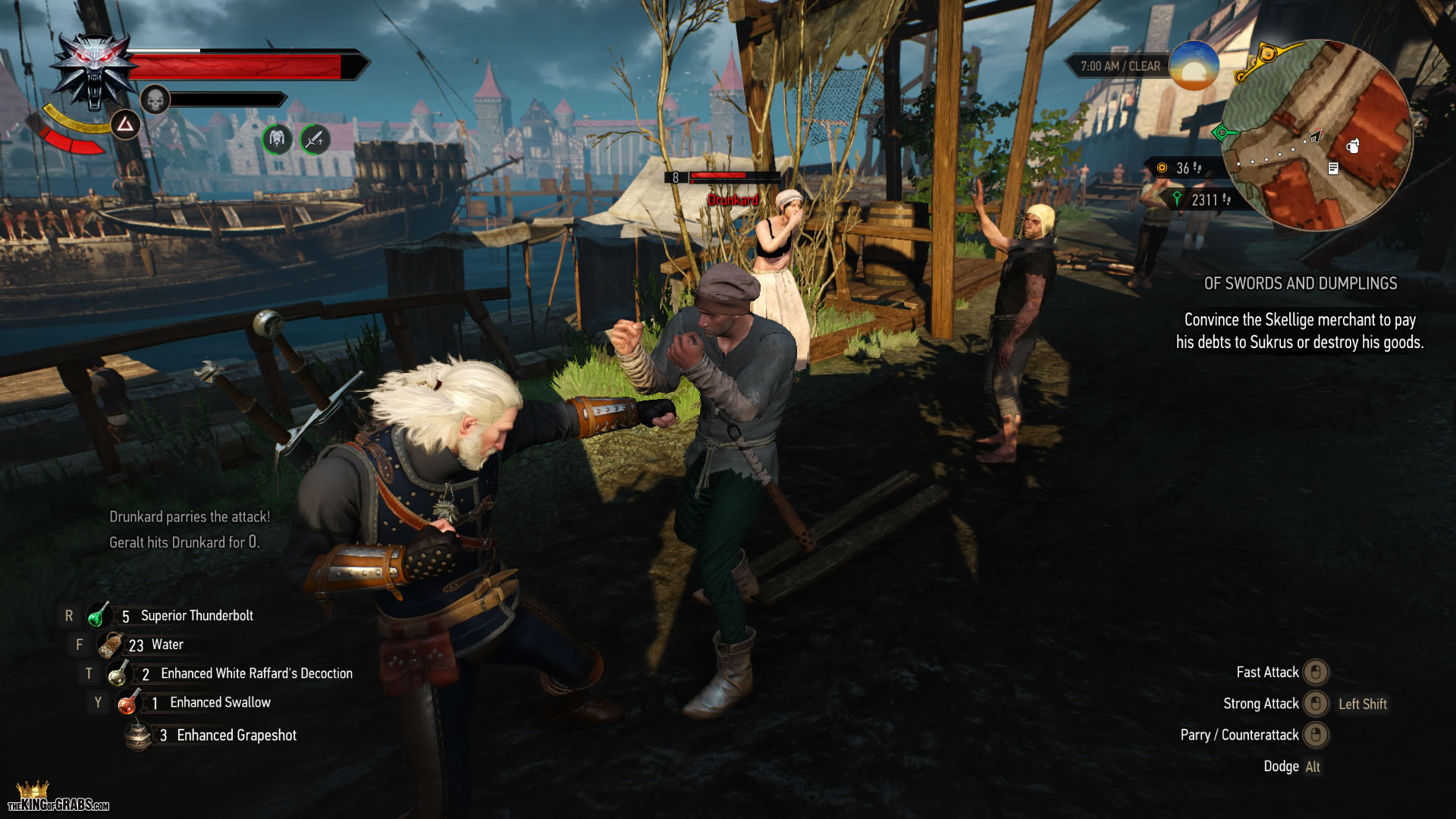 The Witcher 3 – Wild Hunt PC 112 – The King of Grabs