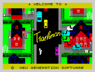 Trashman ZX Spectrum 01
