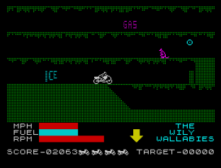 Wheelie ZX Spectrum 42