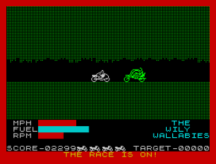 Wheelie ZX Spectrum 53