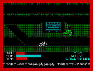 Wheelie ZX Spectrum 56