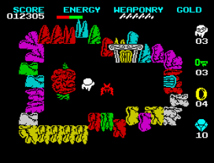 Wizard's Lair ZX Spectrum 09