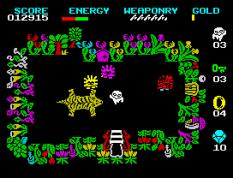 Wizard's Lair ZX Spectrum 10