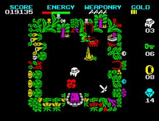 Wizard's Lair ZX Spectrum 12