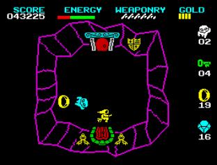 Wizard's Lair ZX Spectrum 23