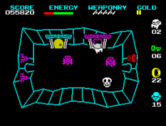 Wizard's Lair ZX Spectrum 32