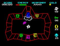 Wizard's Lair ZX Spectrum 33