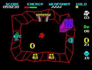 Wizard's Lair ZX Spectrum 34