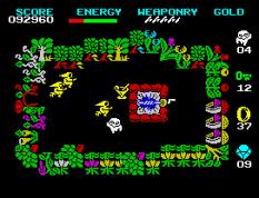 Wizard's Lair ZX Spectrum 44