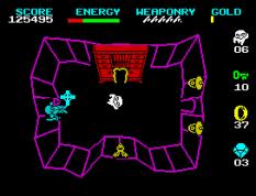 Wizard's Lair ZX Spectrum 54