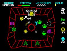 Wizard's Lair ZX Spectrum 55