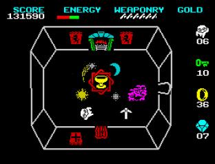 Wizard's Lair ZX Spectrum 56