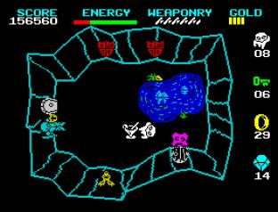 Wizard's Lair ZX Spectrum 67