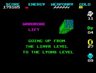 Wizard's Lair ZX Spectrum 75