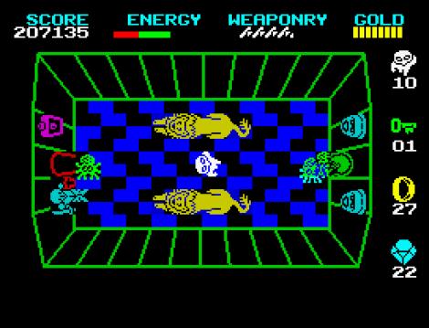 Wizard's Lair ZX Spectrum 81