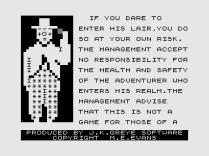 3D Monster Maze ZX81 03