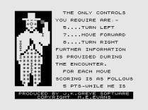 3D Monster Maze ZX81 05