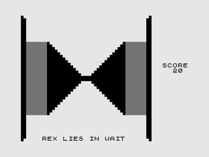 3D Monster Maze ZX81 12