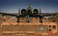 A-10 Tank Killer PC DOS 05