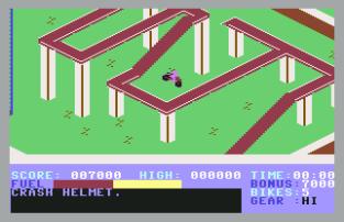 Action Biker C64 09