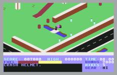 Action Biker C64 10