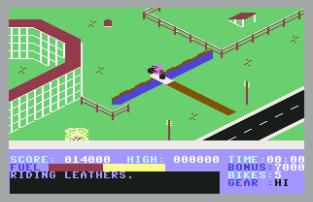 Action Biker C64 12