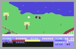 Action Biker C64 20