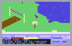 Action Biker C64 21