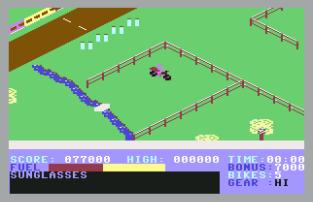 Action Biker C64 23