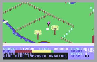 Action Biker C64 31