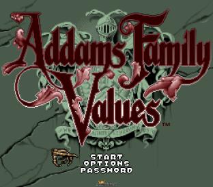 Addams Family Values SNES 001