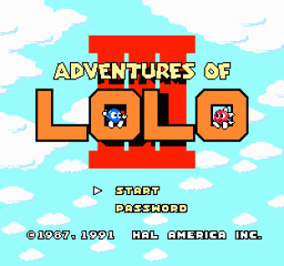 Adventures of Lolo 3 NES 01