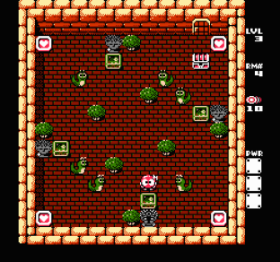 Adventures of Lolo 3 NES 31