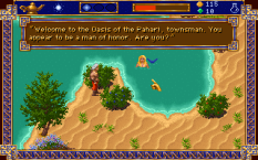 Al-Qadim The Genie's Curse PC DOS 34