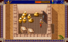 Al-Qadim The Genie's Curse PC DOS 36