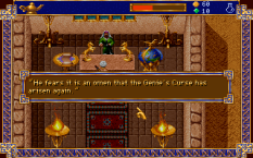 Al-Qadim The Genie's Curse PC DOS 42