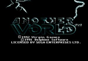 Another World Megadrive 01