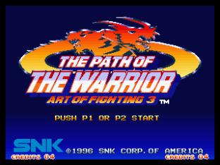 Art of Fighting 3 Neo Geo 01